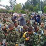 80 soldados de Colombia entregaron sus vidas a Cristo