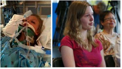 Su amigo oró por ella y despertó del coma