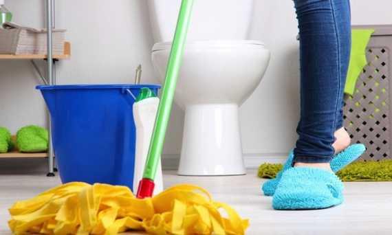 La solución para tener un baño libre de bacterias...