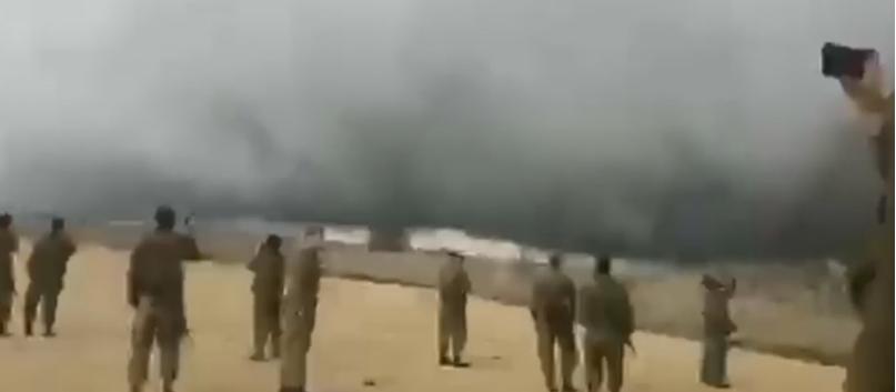 Una Gran Tormenta De Polvo Y Lluvia Ha Detenido Las Acciones De ISIS En La Frontera Con Israel
