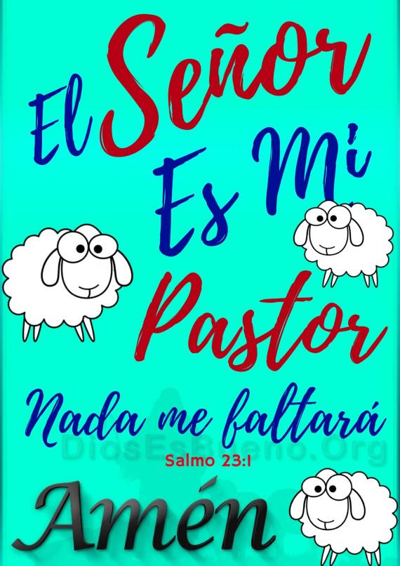 El Señor es mi Pastor-min
