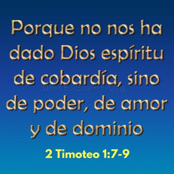 2 Timoteo 1:7-9