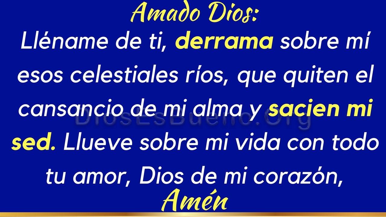 Oración por ánimo  y fortaleza
