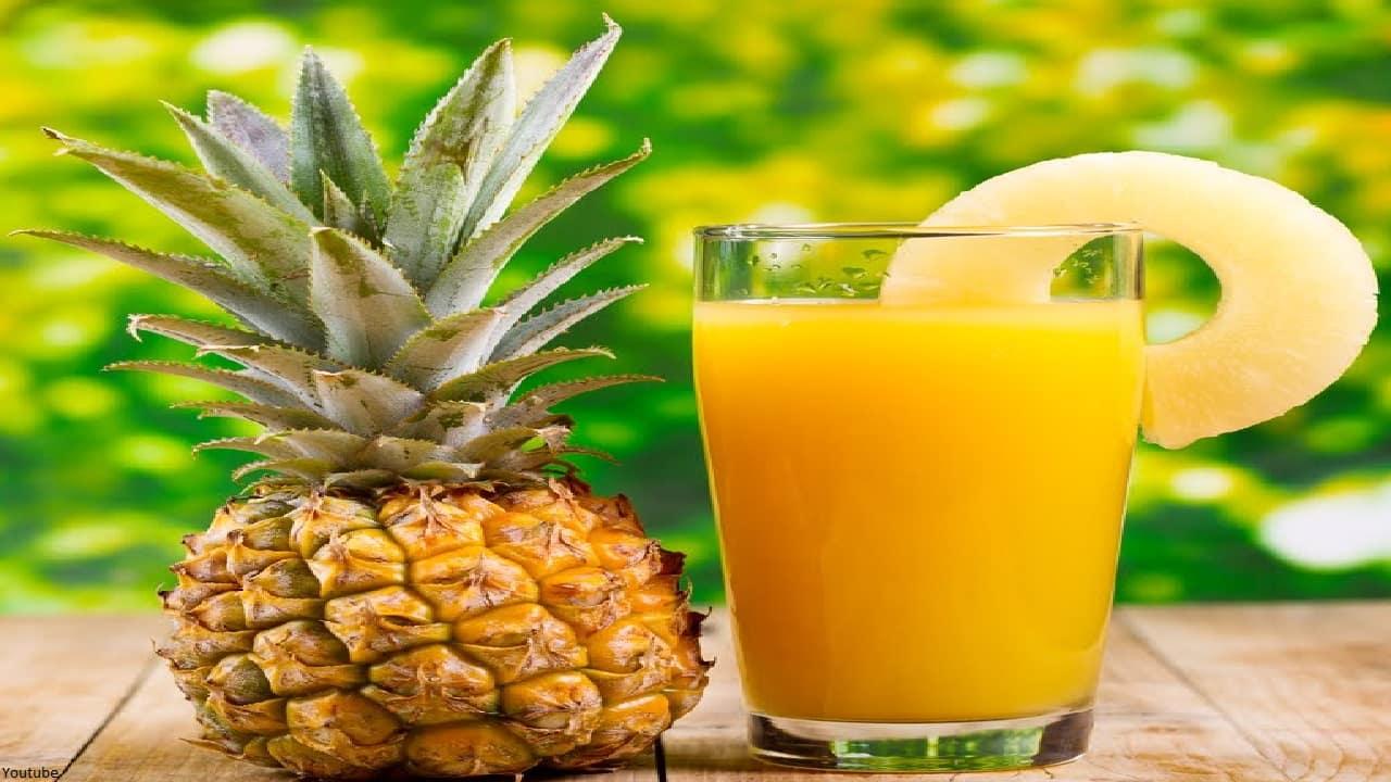 Conozca algunas razones importantes por las que deberías beber agua de piña.