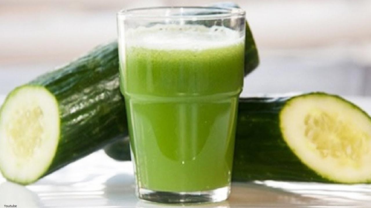 Conozca algunos beneficios del jugo de pepino