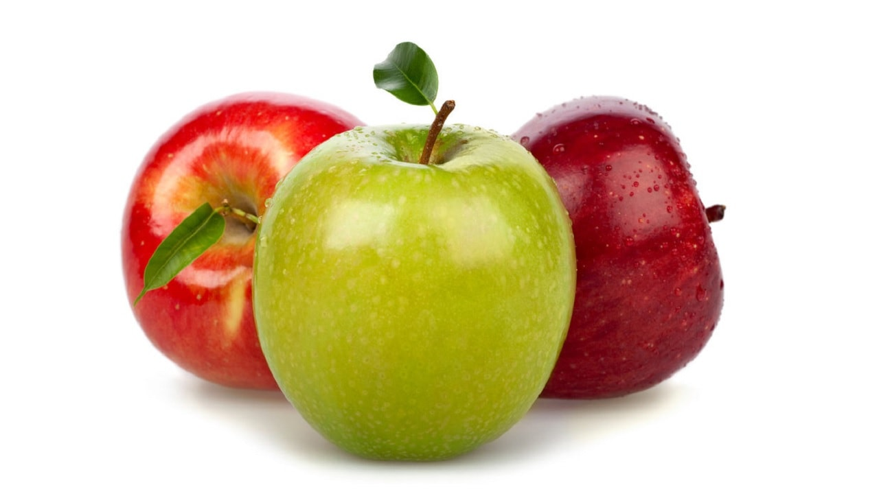 Mira por qué es mejor elegir las manzanas verdes y no las rojas