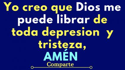 Oración para alejar la Tristeza, la Depresión y la Soledad