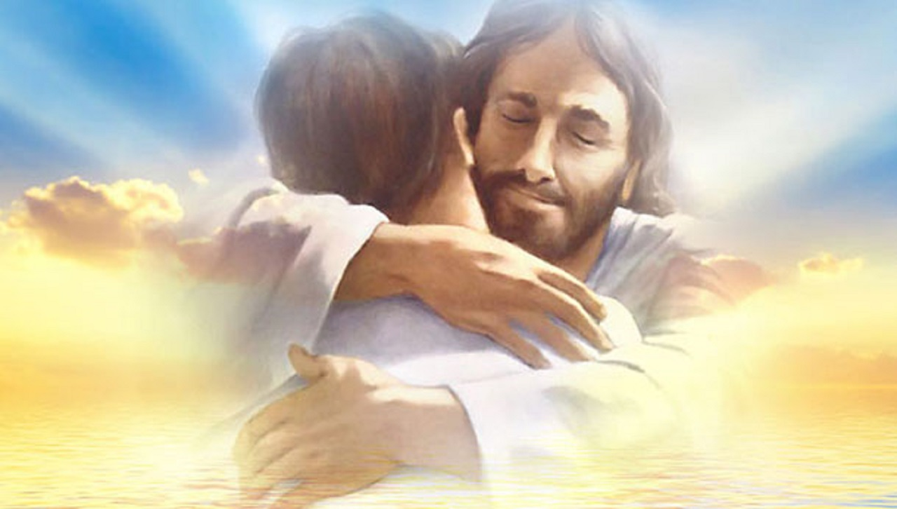 Un abrazo de Jesus