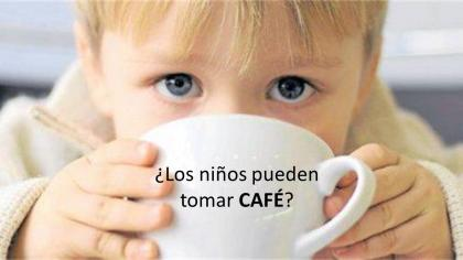 Efectos del café en la salud de los niños