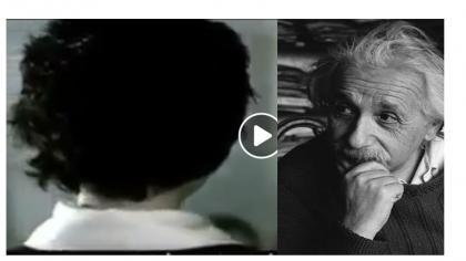 ¿Dios existe? Albert Einstein tuvo una conversación con su profesor y le dio una explicación contundente.