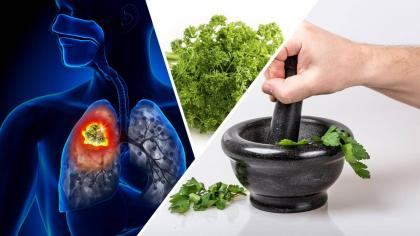 Remedio con perejil contra el cáncer de pulmón, mama, ovario, próstata, páncreas y colon