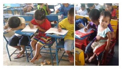 Esta foto publicada por una maestra ha puesto a llorar a millones de personas