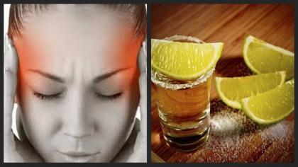 Sal y limón para aliviar las migrañas en 10 Minutos
