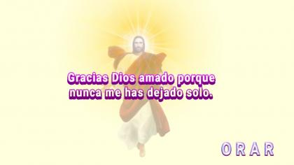 No estás sólo, Dios está contigo