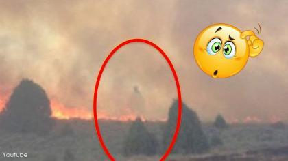 Familia oró en medio de un voraz incendio y esta fue la respuesta.
