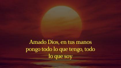 Pongamos nuestra vida en las manos de Dios
