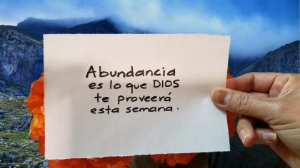 Oración para abundancia
