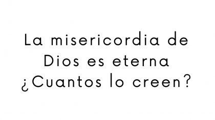 No me preocupo porque Dios es Eterno