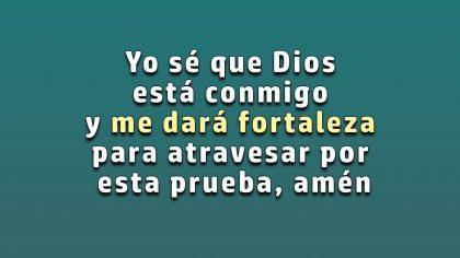Dios está a tu lado cuando sufres