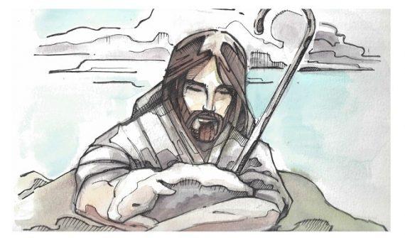 Jesús es mi buen pastor